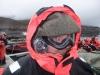 Spitzbergen-Fjord-View: Kamerakind Stefan vor der Isfjord-Querung