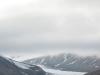 Blick auf den Gletscher Tellbreen
