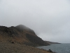 Der Nebel taucht die Berge in einen mystischen Schleier