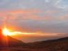 Der perfekte Sonnenuntergang im Carolinedalen
