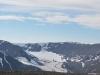 Blick Richtung Bolterdalen, im Hintergrund der Scott Turnerbreen