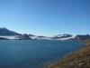 Ein weiterer Blick auf den Gletscher am Ende der Bucht