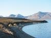 Ein Camp von russischen Geologen - direkt am Ufer einer Bucht