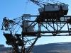 Der alte Kran - rostiges Überbleibsel des Bergbaus