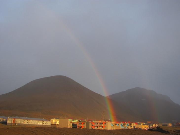 Ob sich am Ende des Regenbogens Töpfe voll Wikinger-Gold verstecken?