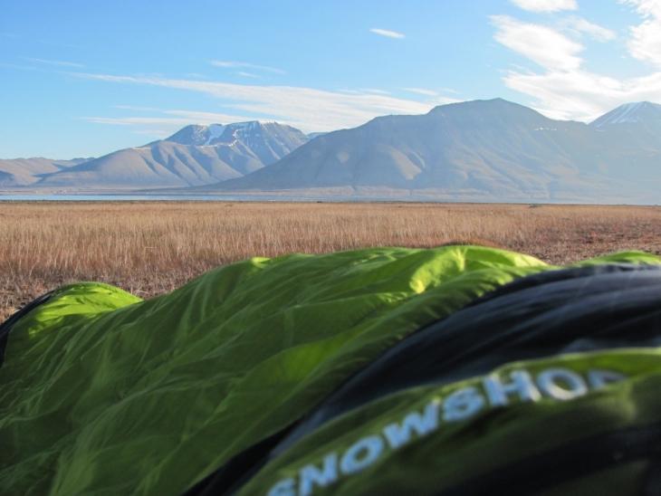 Draußen Schlafen Ohne Zelt Tipps : Spitzbergen